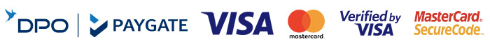 VISA, MasterCard, Amex, Diners Club, Instant EFT, eBucks, creditcart, Discovery Miles, Mobicred